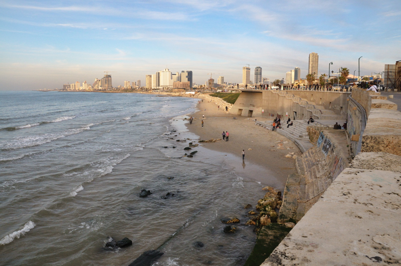 View of Tel-Aviv from Jaffa