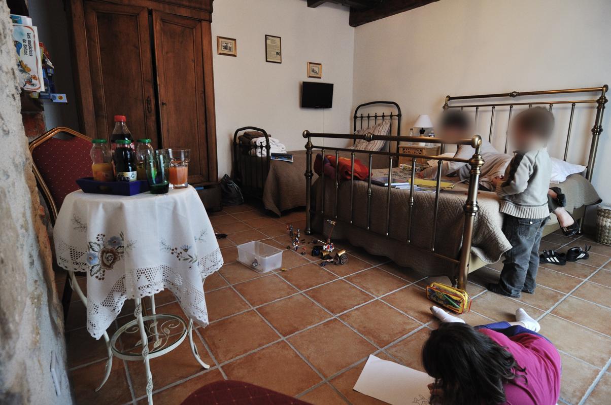 La chambre des gnomes, fournie en jouets, jeux et livres