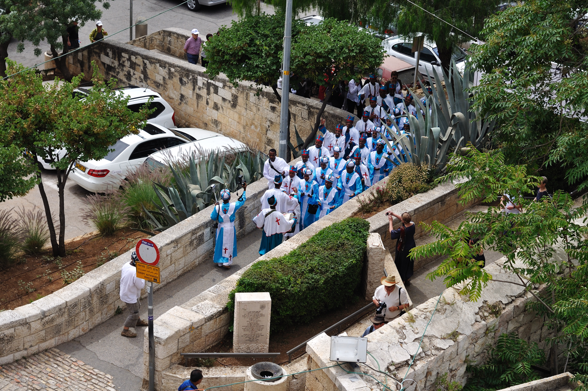 Sunday...Catholic procession :)