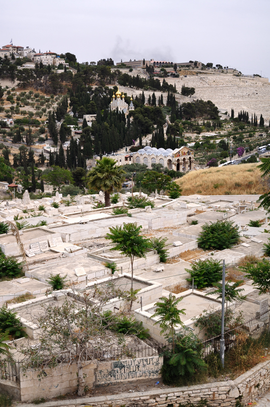 Arab Cemetary, Orthodox Church & Mount of Olives