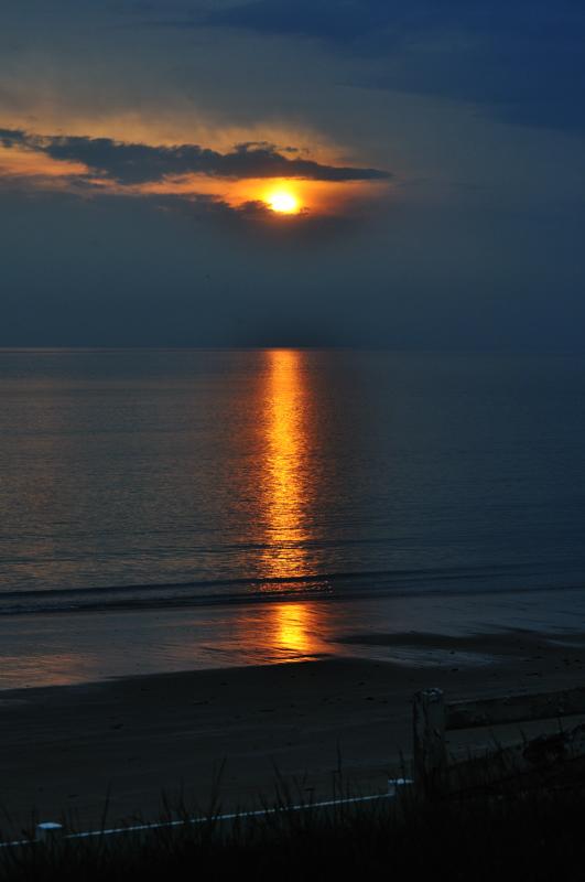Le coucher de soleil...classique