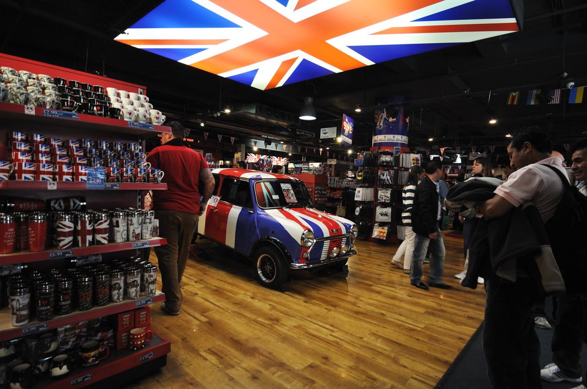 Britannia - LE magasin à souvenirs