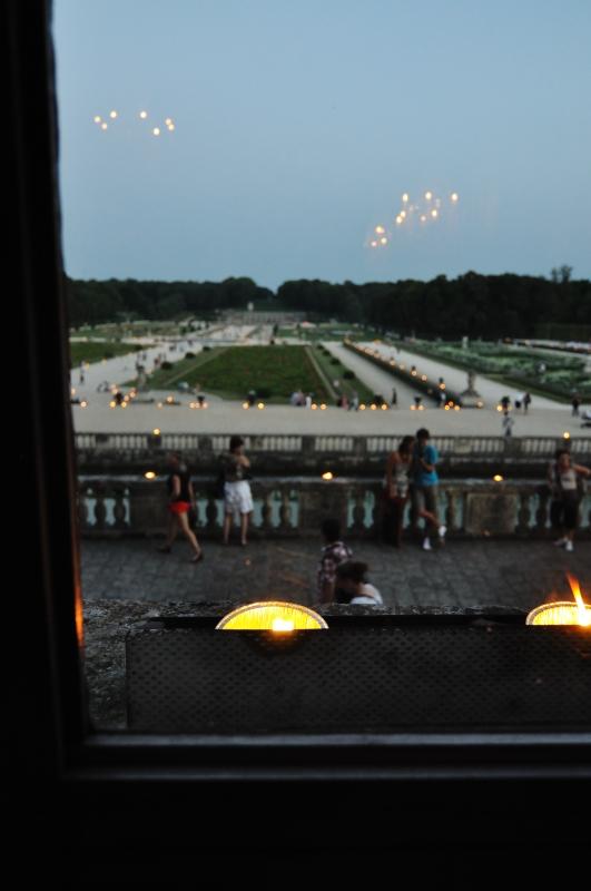 Le parc s'illumine de bougies
