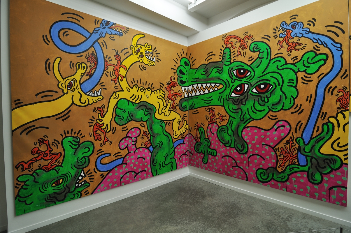 Keith Haring au 104