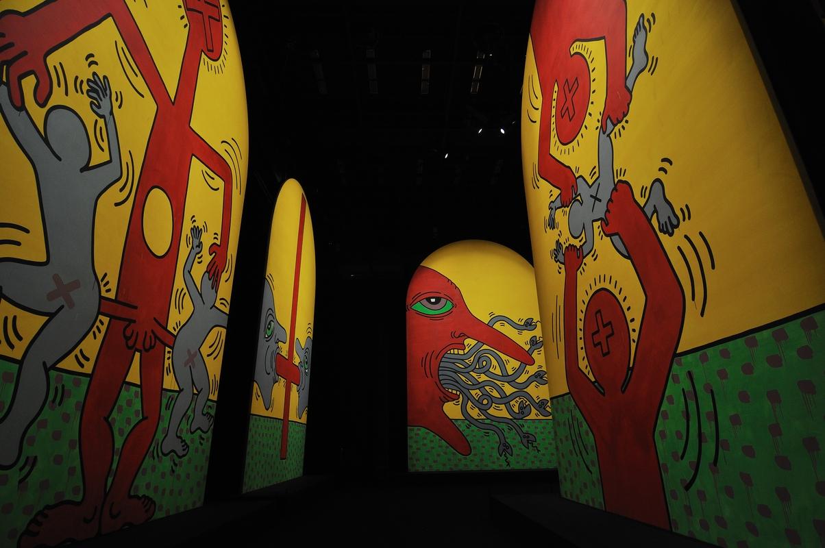Keith Haring au 104