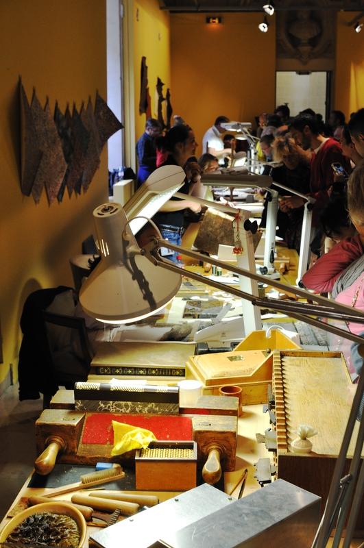 Atelier restauration des livres