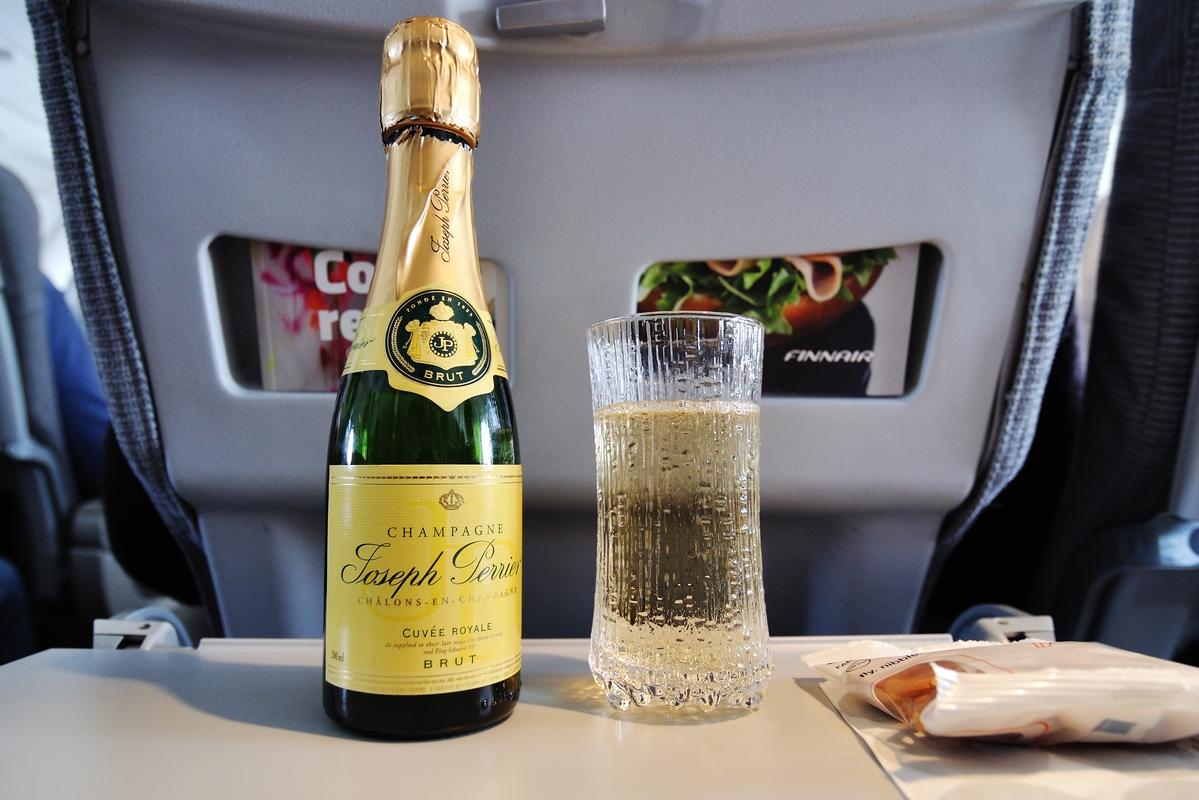 Apéro au champagne...