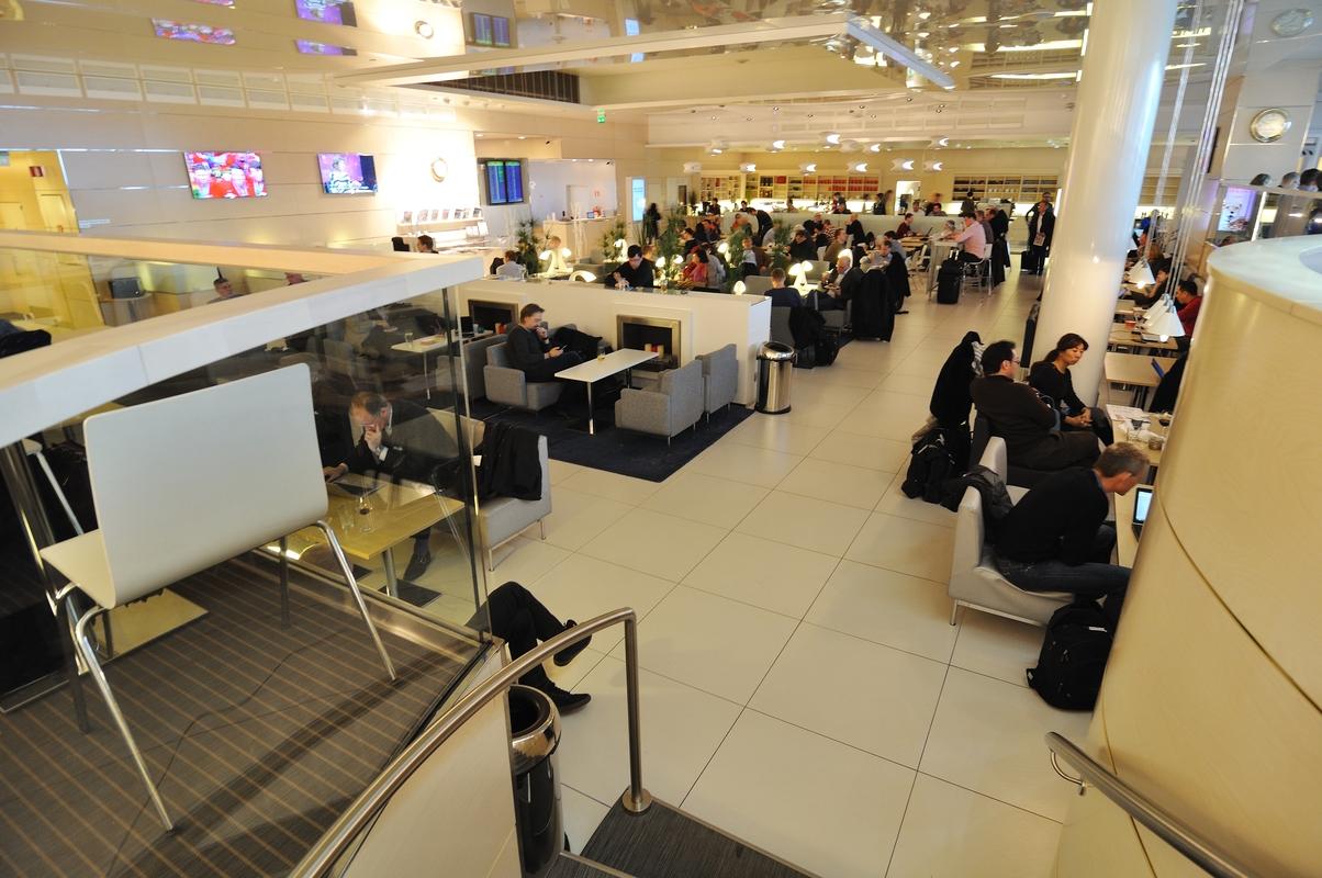 Lounge Finnair à Helsinki