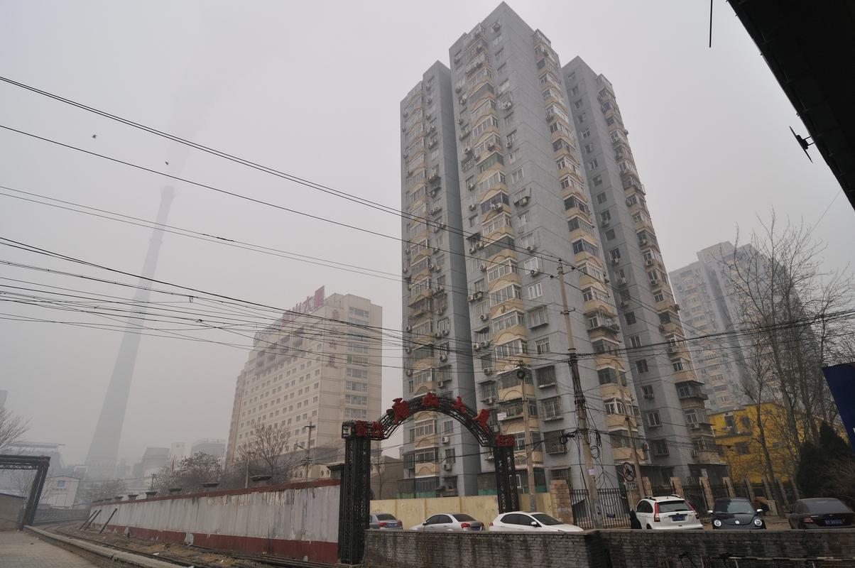 Une tour d'habitation...austère