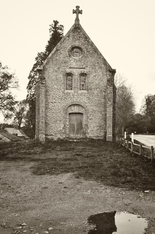 Nouvelle chapelle (mais abandonnée)