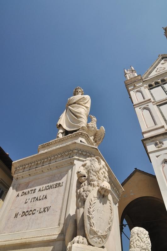 Médiocre monument (guide Florence acheté en Italie) de Piazza (1865)