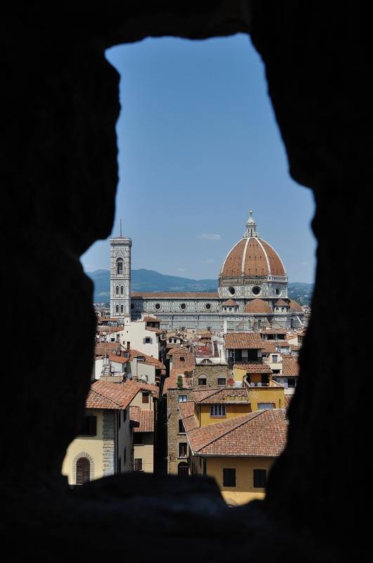 Vue vers le Duomo