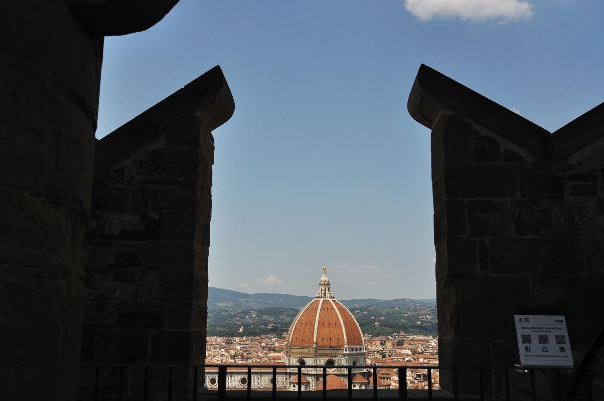 Duomo vu du sommet de la tour