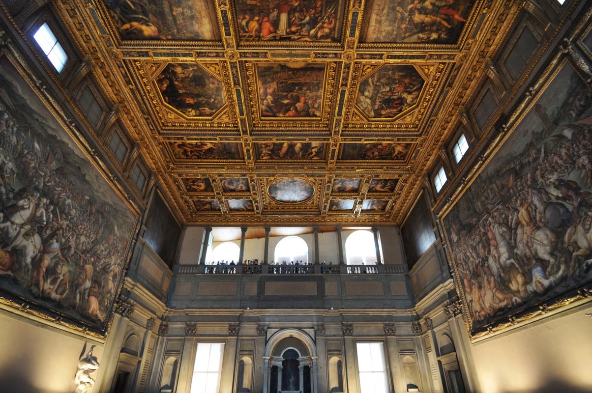 Fresques et plafond