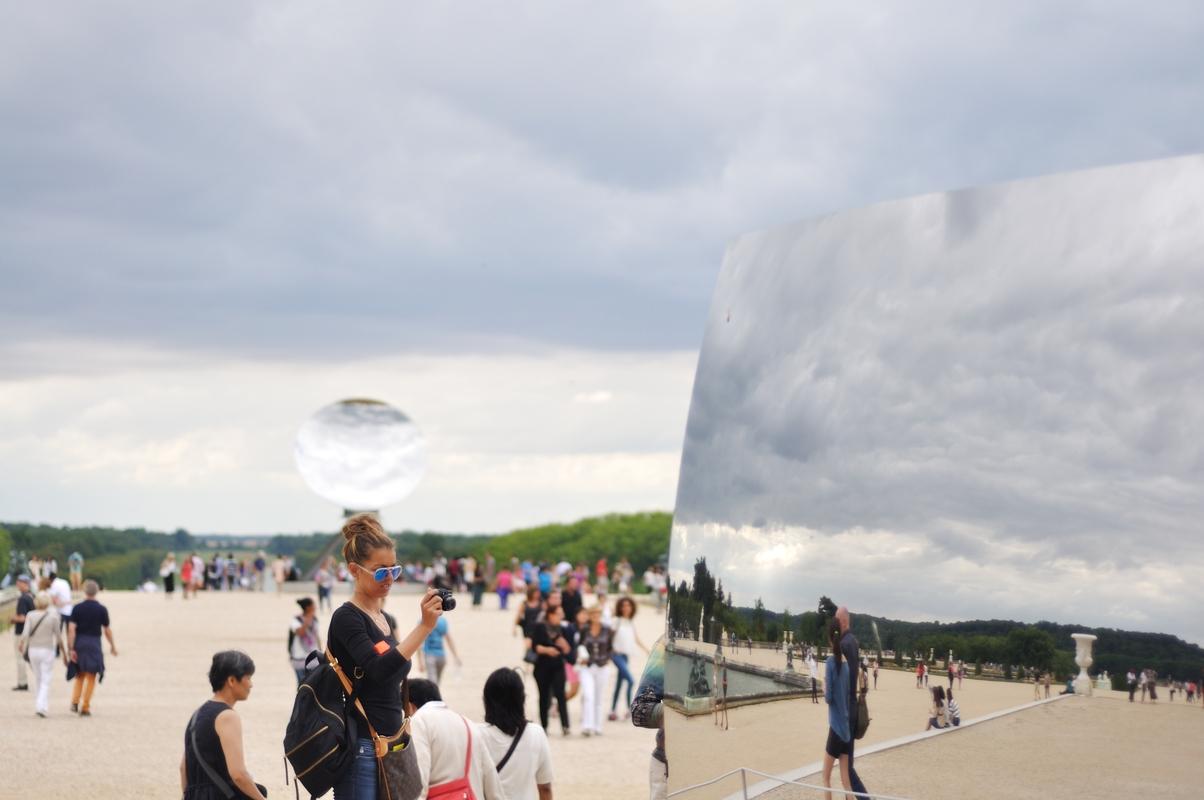 C-curve et Sky Mirror